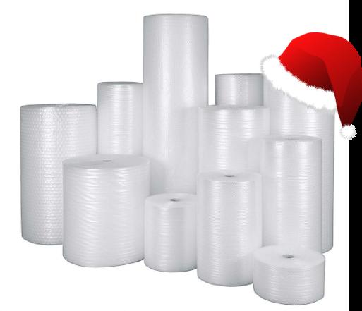 Luftpolsterfolie Verpackungsmaterial eswe versandpack gmbh Weihnachtsmütze